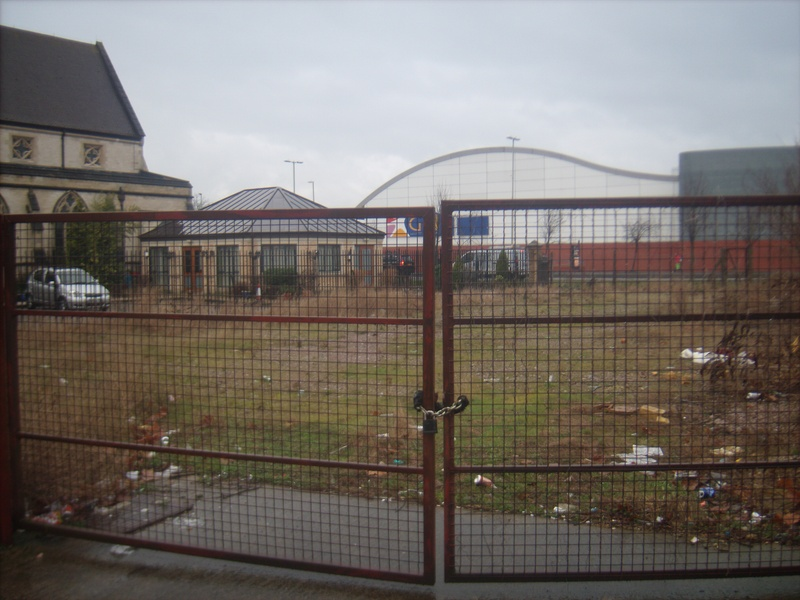 Prospective Garden site by Anglo-Asian Centre